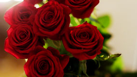 Ramo de rosas rojas Foto de archivo libre de regalías