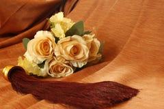 Ramo de Rose con la borla Imagen de archivo