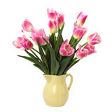 Ramo de tulipanes rosados Imágenes de archivo libres de regalías