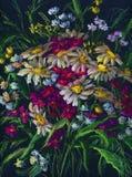 Ramo de wildflowers Fotografía de archivo libre de regalías