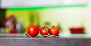 Ramo dei pomodori Fotografia Stock Libera da Diritti