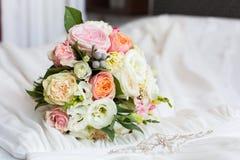 Ramo delicado de la boda Imagen de archivo