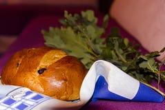 Ramo della quercia e del pane Immagini Stock