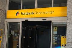 Ramo di Postbank del tedesco Fotografia Stock Libera da Diritti
