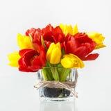 Ramo dulce de tulipanes fotografía de archivo