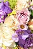 Ramo en colores pastel de la boda Fotos de archivo