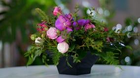 Ramo floral hermoso almacen de video