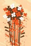 Ramo floral, vector Stock de ilustración