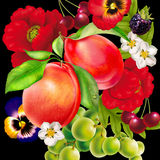 Ramo, fondos, naturaleza, flor, belleza, planta libre illustration
