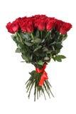 Ramo grande de rosas rojas Imagen de archivo libre de regalías