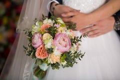 Ramo hermoso de la boda Fotografía de archivo libre de regalías