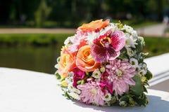 Ramo hermoso de la boda de la novia Fotos de archivo libres de regalías
