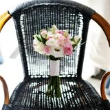 Ramo hermoso de la boda de rosas Fotos de archivo