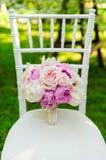Ramo hermoso de la boda para la novia Foto de archivo