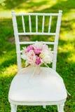 Ramo hermoso de la boda para la novia Fotografía de archivo libre de regalías