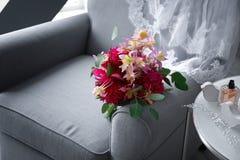 Ramo hermoso de la flor Fotografía de archivo