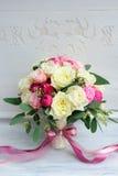 Ramo hermoso de la flor de la boda para la novia Fotos de archivo libres de regalías