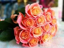 Ramo hermoso de las rosas Imagen de archivo libre de regalías