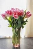 Ramo hermoso de tulipanes Fotos de archivo