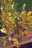 Ramo hermoso de wildflowers brillantes Foto de archivo libre de regalías