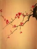 Ramo luminoso della ciliegia illustrazione di stock