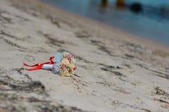 Ramo nupcial de flores Foto de archivo libre de regalías