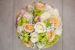 Ramo nupcial de flores Fotos de archivo libres de regalías