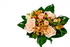 Ramo nupcial de rosas. Foto de archivo libre de regalías