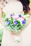 Ramo precioso de la boda Fotos de archivo libres de regalías