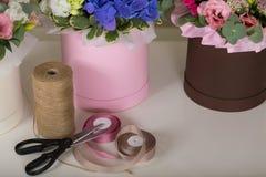 Ramo precioso en una floristería Fotos de archivo libres de regalías