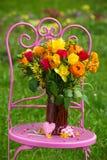 Ramo romántico de la flor fotografía de archivo libre de regalías