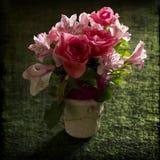 Ramo rosado aislado Fotografía de archivo