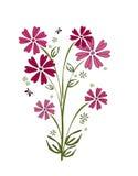 Ramo rosado de la flor Foto de archivo