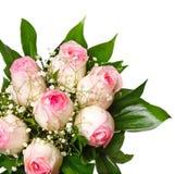 Ramo rosado de Rose Foto de archivo