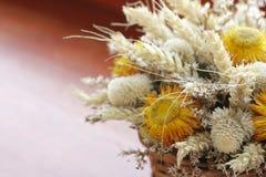 Ramo secado de las flores Foto de archivo