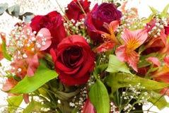 Ramo vibrante de la flor Imagenes de archivo