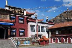 Ramoche寺庙,西藏佛教寺庙 免版税库存照片