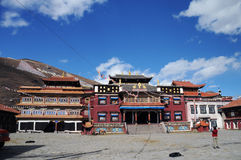 Ramoche temple, Tibet buddhism temple Stock Image