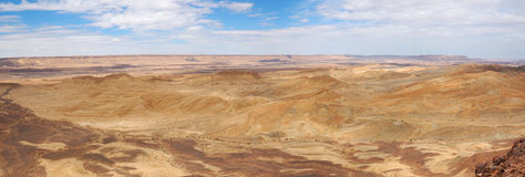 Ramon Canyon panorama, Israel Stock Images