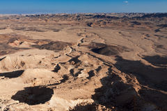 Ramon Crater. Stock Photography