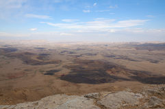 Ramon Crater desert, Israel Royalty Free Stock Photos