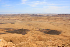 Ramon Crater, Israel Royalty Free Stock Photos