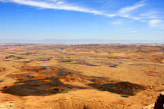 Ramon Crater, Israel Stock Image
