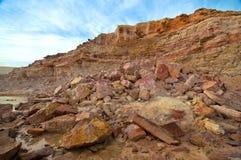 Ramon krater Obrazy Stock