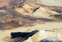 Ramon krater Makhtesh Ramon, Izrael - Zdjęcia Royalty Free