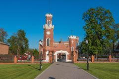 Ramon, Russia, 07, May, 2016: Oldenburg Palace, Voronezh Region royalty free stock images