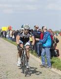 Ramon Sinkeldam - París Roubaix 2014 Imagen de archivo