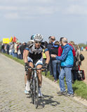 Ramon Sinkeldam - Paris Roubaix 2014 Stock Image