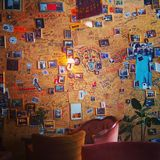 Ramones vägg Fotografering för Bildbyråer