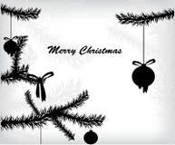 Ramos de árvore do Natal Fotos de Stock